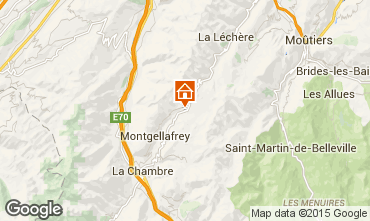 Map Saint Fran�ois Longchamp Apartment 73305