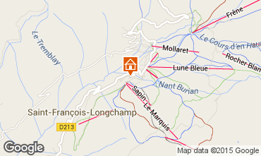 Map Saint François Longchamp Apartment 73305