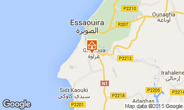 Map Essaouira Bed and breakfast 76693