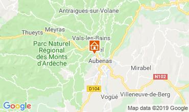 Map Aubenas Villa 118234