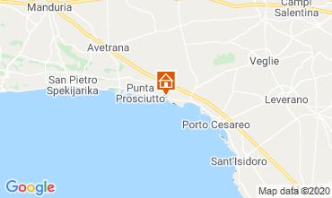 Map Porto Cesareo Apartment 52373