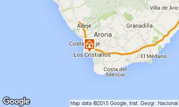 Map Los Cristianos Apartment 99539