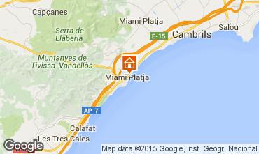 Map Miami Playa Apartment 34588