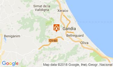 Map Gandia Chalet 115732