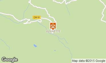 Map Gourette Apartment 92200