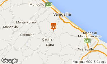 Map Senigallia Apartment 87655