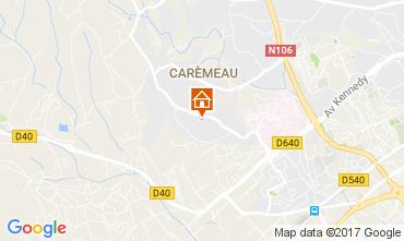 Map Nîmes Villa 103577