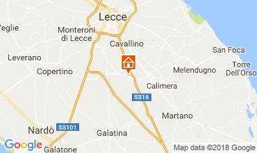 Map Lecce Villa 113783