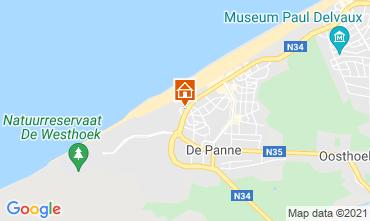 Map De Panne Apartment 54320