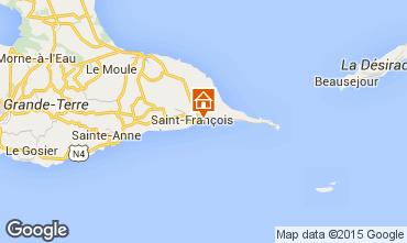 Map Saint Francois Apartment 102059