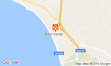 Map Gallipoli Apartment 107466