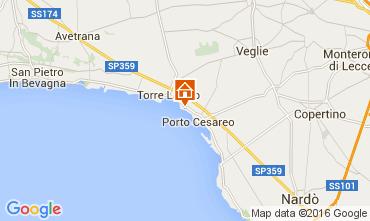 Map Torre Lapillo Apartment 103722