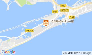 Map Palavas-les-Flots Villa 110505