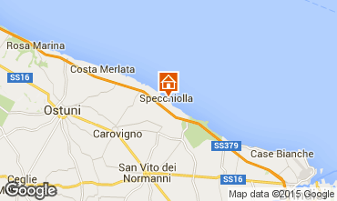 Map Ostuni Villa 95650