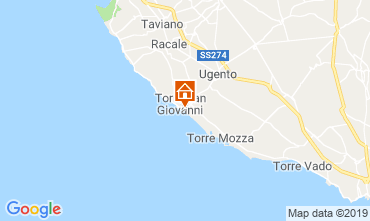 Map Ugento - Torre San Giovanni Apartment 108700
