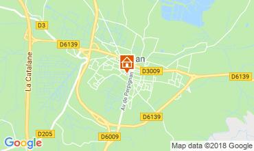 Map Sigean Apartment 116260