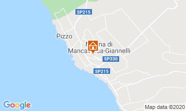 Map Marina di Mancaversa Apartment 113647