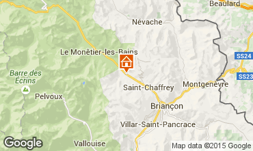 Map Serre Chevalier Apartment 2948