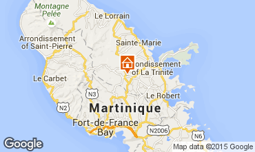 Map Gros-Morne Vacation rental 62747