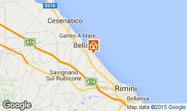 Map Bellaria Igea Marina Apartment 64492