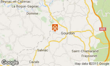 Map Rocamadour House 42060