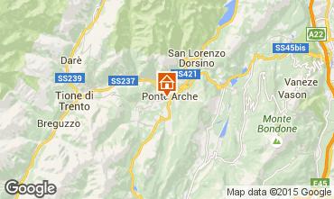 Map Comano Apartment 80262