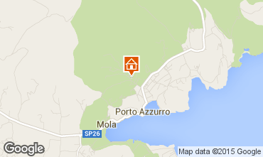 Map Porto Azzurro Apartment 76989