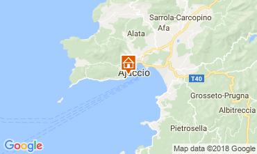 Map Ajaccio Apartment 115712