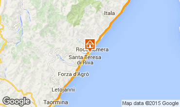 Map Taormina Apartment 43846