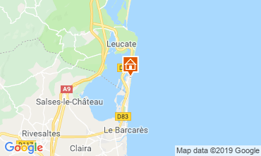 Map Port Leucate Apartment 85465