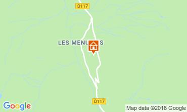 Map Les Menuires Apartment 116861