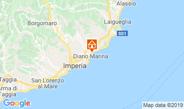 Map Diano Marina Apartment 50004