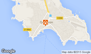 Map Quiberon Apartment 81600