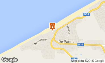 Map De Panne Apartment 32142