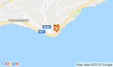 Map Sanremo Apartment 106557