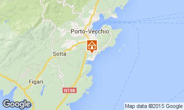 Map Porto Vecchio Apartment 7914