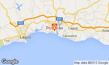 Map Praia da Rocha Apartment 84039