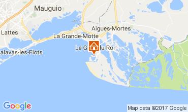 Map Port Camargue One-room apartment 108365