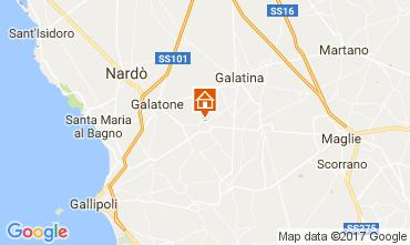 Map Gallipoli Apartment 78191