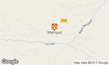 Map Manigod-Croix Fry/L'étale-Merdassier Apartment 1567