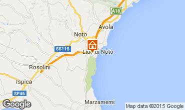 Map Noto Villa 94840