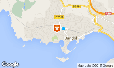 Map Bandol Apartment 8434