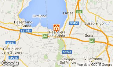 Map Peschiera del Garda Apartment 69648