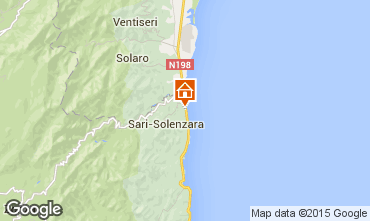 Map Porto Vecchio Apartment 59807