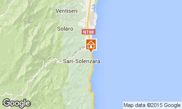 Map Porto Vecchio Apartment 59807