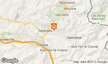Map Samoëns House 60706