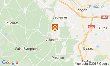 Map Langon Vacation rental 107611