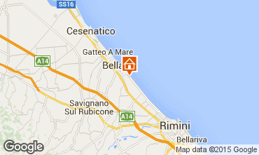 Map Bellaria Igea Marina Apartment 31595