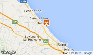 Map Bellaria Igea Marina Apartment 31595