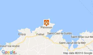 Map Frehel Vacation rental 106907